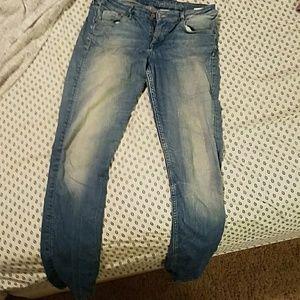 &denim skinny jeans
